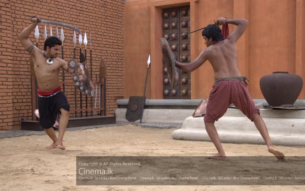 Devadatta (Gautam Gulati) and Channa (Saranga Dissasekara) in Dual [1024x768]