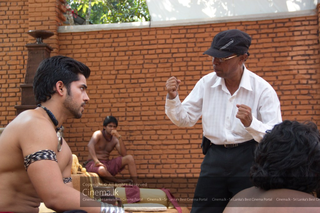 Director Saman Weeraman with Indian Star Gautam Gulati as Devadatta [1024x768]