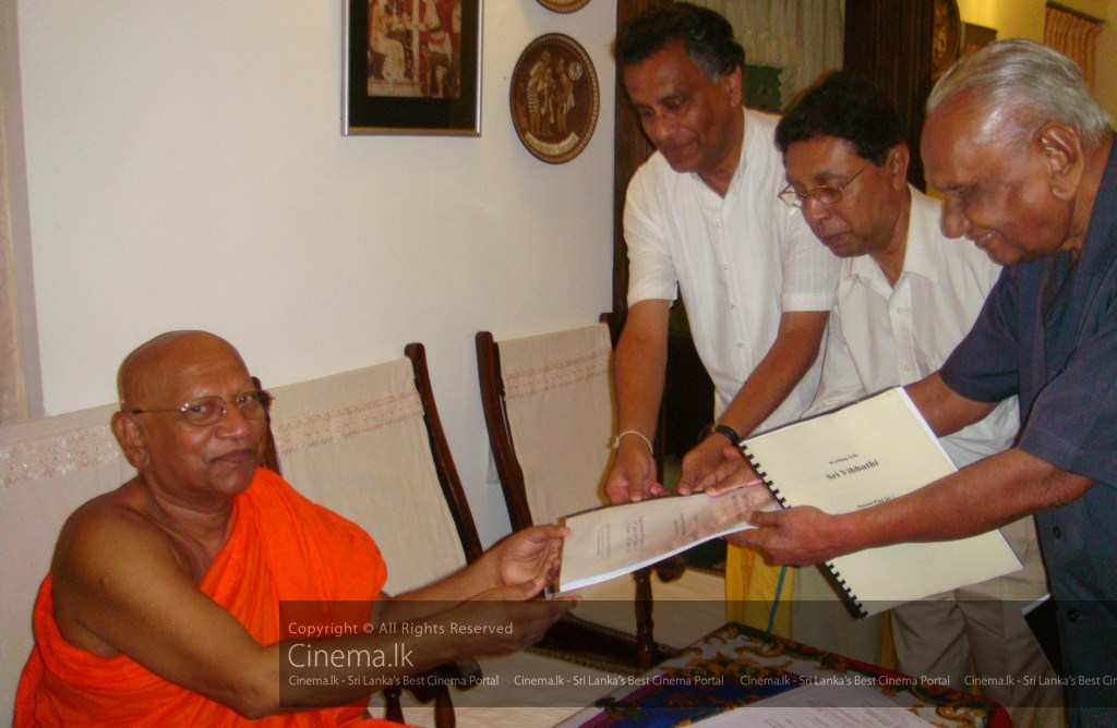 Ven Prof. Bellanwila Wimalarathana Nayaka Thero Chief consultant for the Script [1024x768]
