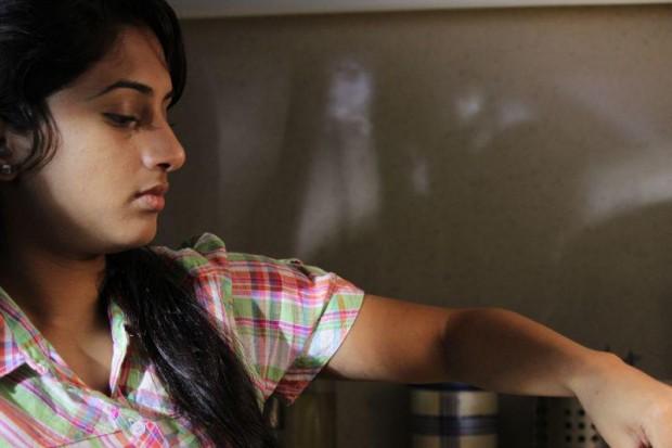 Sheshadrie Priyasad at Tharu Athara Mama sinhala film
