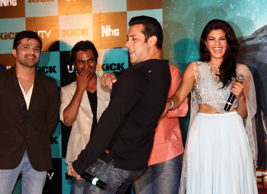 How Salman, Sajid pegged Jacqueline to dub for Kick