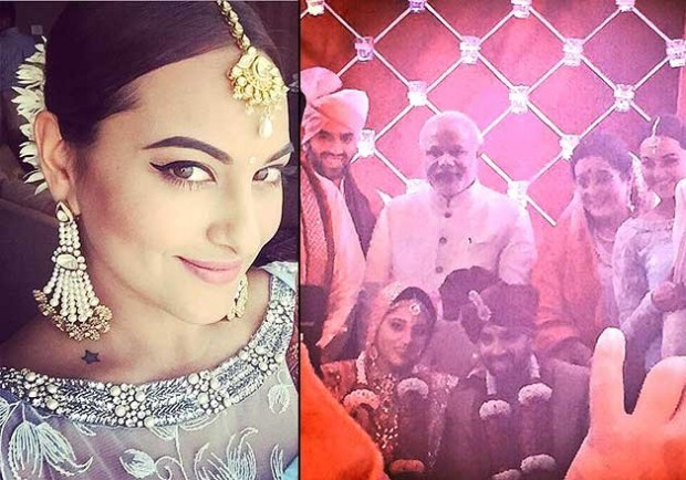 Sonakshi Sinha's brother gets married, (1)