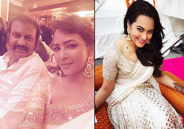 Sonakshi Sinha's brother gets married, (4)